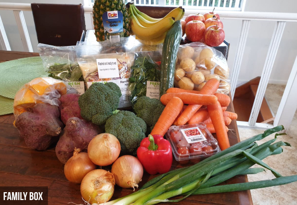 Fruit & Vege Box - Two Sizes Available with Free North Island Urban Delivery