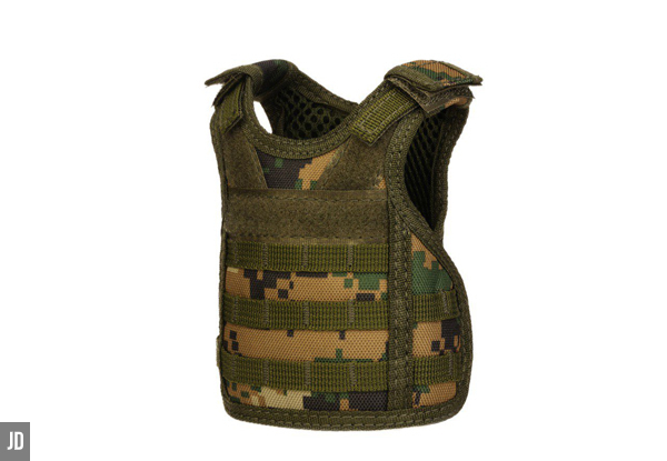Tactical Vest Beer Bottle Sleeve Range- Seven Styles Available