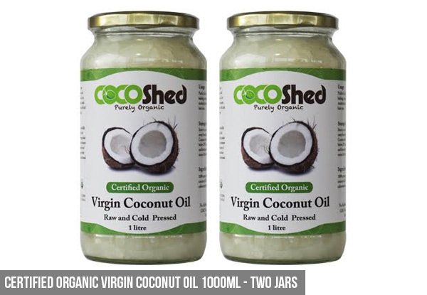 Certified Organic Virgin Coconut Oil Jar Package - Eight Options Available