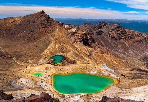 Tongariro Alpine Crossing Return Shuttle for One Person - Options for up to Five People