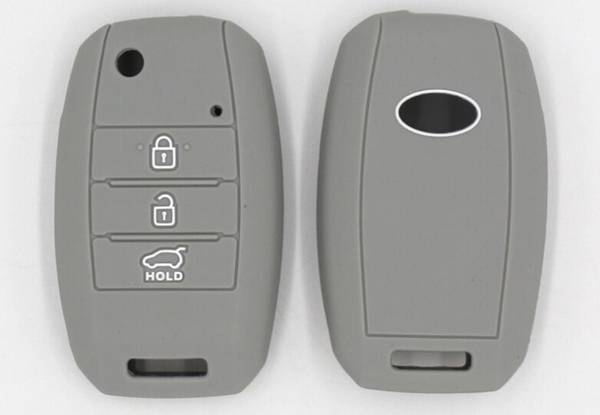 Silicone Key Cover Compatible with KIA -  Five Colours Available & Option for Two