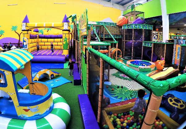 Junglerama Birthday Party for up to Eight Kids incl. Little Cubs Food Package - Hutt Park Location