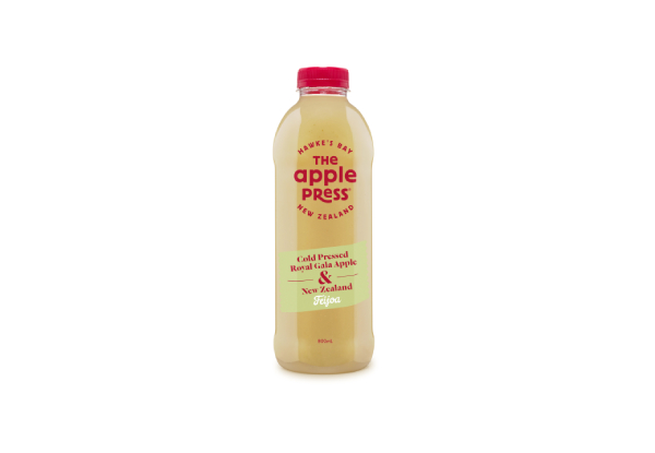 One 12-Pack of The Apple Press Feijoa & Apple Juice 800ml - Options for up to Three 12-Packs Available