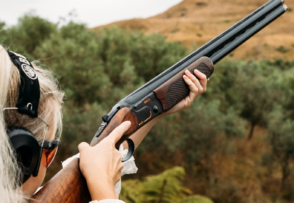 Beretta at Bracu Experience Package for Two People incl. Knife Throwing, Air Rifles, 6 x Clay Bird Shooting, Archery & Garden Platter - Options for up to Ten People - Valid Wednesday to Friday Only