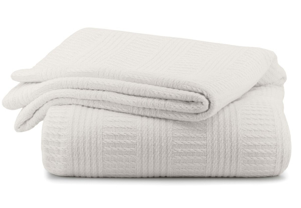 Canningvale 100% Cotton Luxury Corda Blanket/Throw - Two Sizes Available