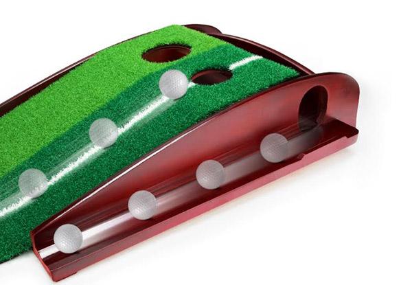 Indoor Golf Putting Green Set • GrabOne NZ