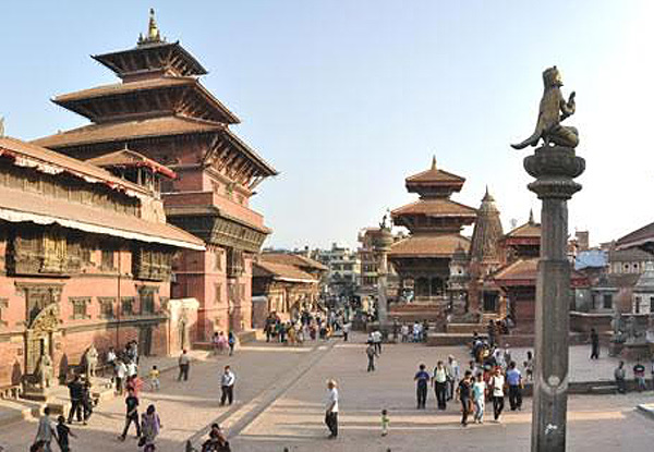 Per-Person Twin-Share 18-Day India Golden Triangle & Nepal Tour incl. Private Transport, Transfers, English Speaking Tour Guide, Activities & Sightseeing