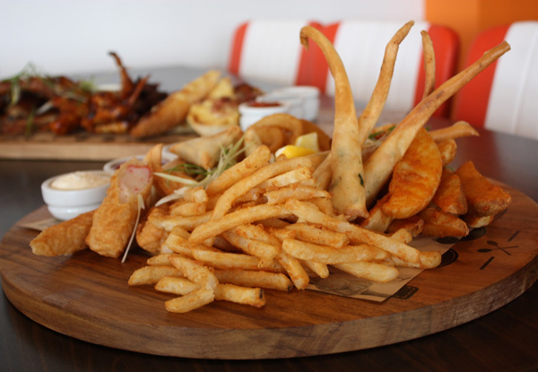 $42 for Any Jandal Platter & Four Drinks (value up to $81)