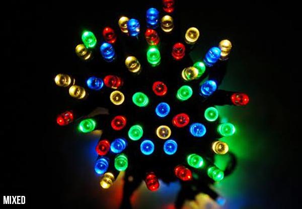 15m LED Solar Fairy Lights GrabOne NZ