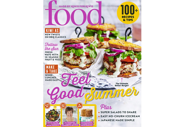 8 Issues of FOOD Magazine Subscription incl. Free Nationwide Delivery - Options for 15 Issues Available
