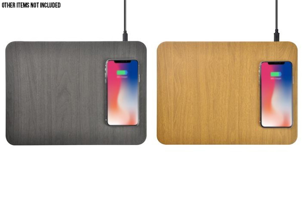 Fast Charge Wireless Mousepad Charger - Two Colours Available