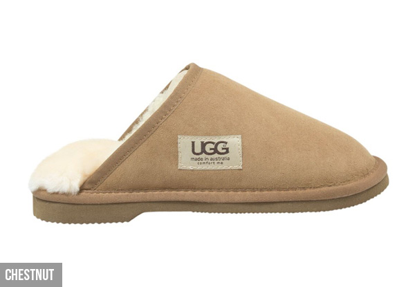 Comfort Me Unisex Australian-Made Memory Foam Classic UGG Scuffs - Four Colours & Eight Sizes Available