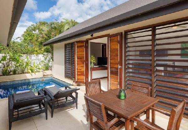 Per-Person, Twin-Share Five-Night Tropical Vanuatu Escape in a Lagoon View Bungalow incl. Return Airport Transfers, Light Daily Breakfast, $50 Food & Beverage Credit Per-Room & a Secret Garden Tour - Option for a Lagoon View Pool Bungalow