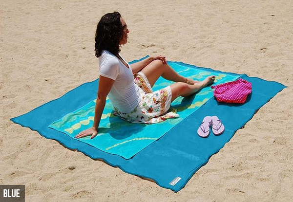 Sand-Free Beach Mat - Three Colours Available