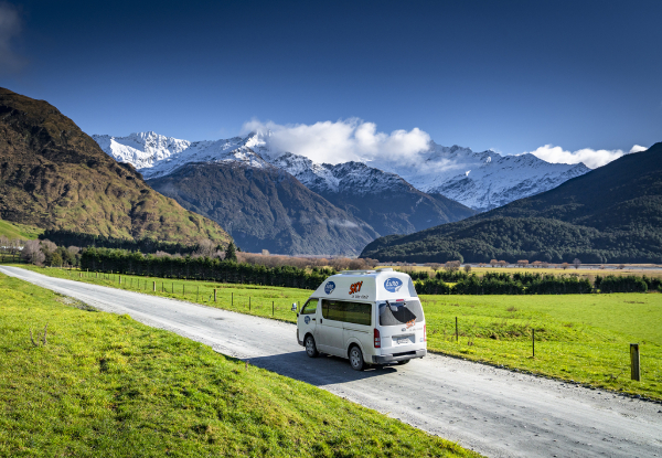 Four-Day Campervan Summer Trip for up to Three People - Option for Six Days