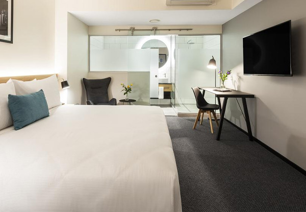 One Night 4.5 Star Stay at The Brand New OAKS Wellington Hotel for Two People incl. 50% off Daily Breakfast, 20% of all F&B at Onsite Oaks & Vine Restaurant, Parking & Late Check-Out of 4pm - Options for Two & Three Night Stays Available