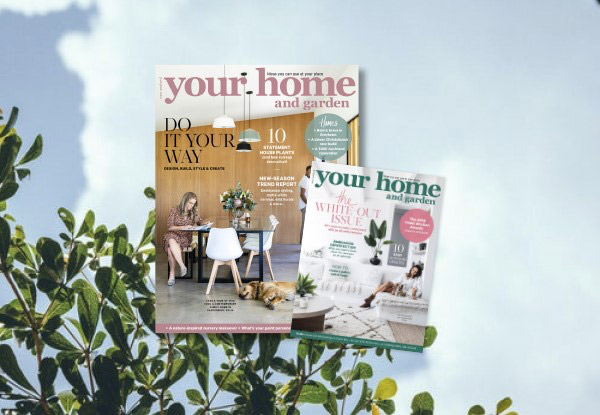 Six Issues of Your Home & Garden Magazine Subscription incl. Free Nationwide Delivery - Option for 12 Issues Available