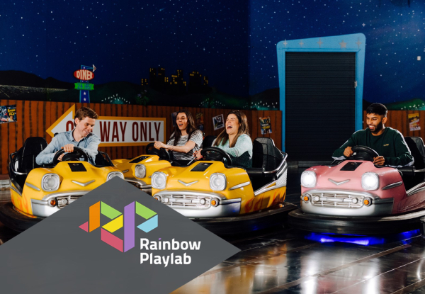 Rainbow's End Playlab Premium VR Pass - Option for Playlab Play & Cafe Pass incl. Hunger Buster Meal
