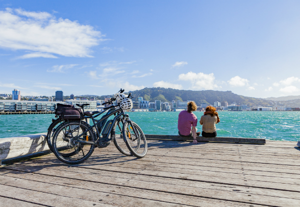 Full-Day Electric Bike Hire with Your Choice of Burger at the Chocolate Fish Cafe - Options for Two People & Bikes Only
