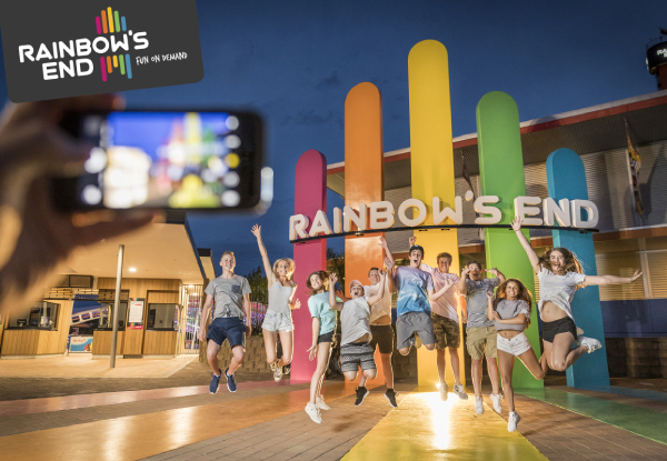Rainbow's End Dark Rides Superpass - Valid 12, 19, 26 October & 2 November 2019