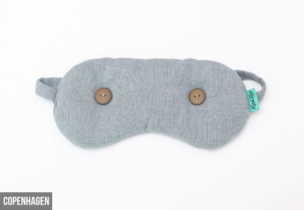 Natural Eye Mask - Four Colours Available