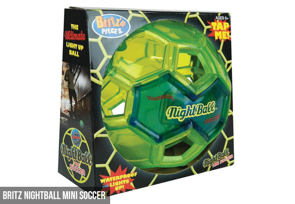 Britz Nightball Mini Ball Range - Two Styles Available