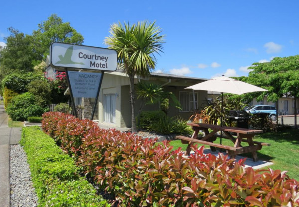 Escape to Taupo for Two Nights in a One-Bedroom Unit for Two People - Options for up to Six People