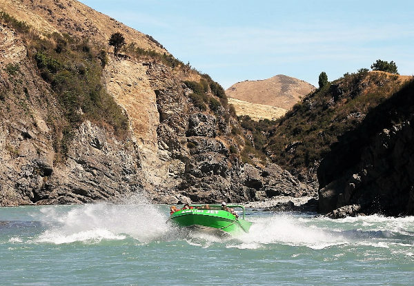 Jet Waiau Gorge One Adult Amuri Jet Ride - Option for a Child Pass