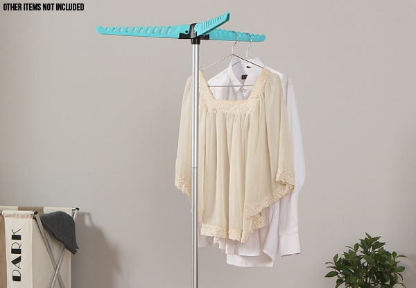 Foldable Garment & Clothes Drying Rack - Option for Two