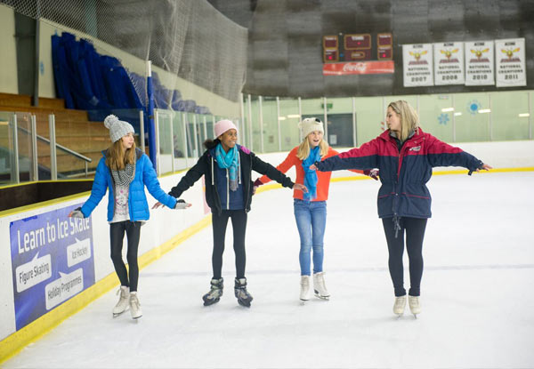 Five-Day Learn to Ice Skate School Holiday Programme - Two Locations