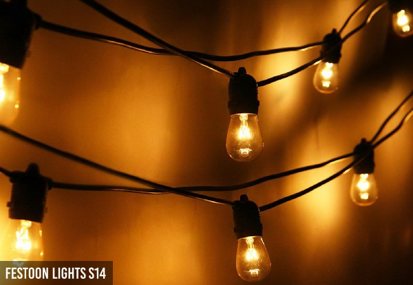 Waterproof Festoon Light Range - Three Options Available