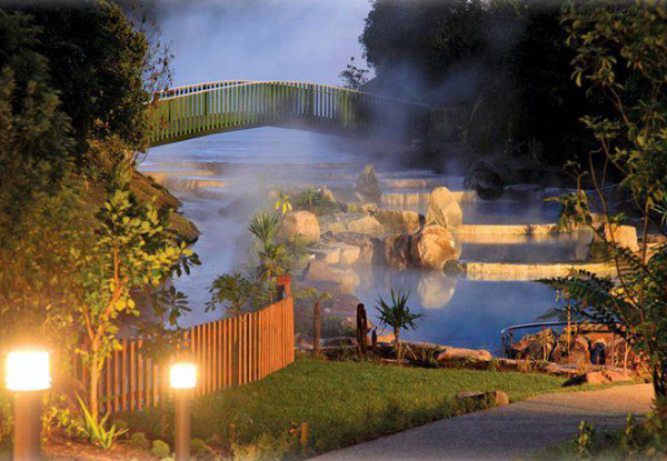 One-Night Midweek Taupo Soak & Stay Getaway incl. Buffet Breakfast at Wairakei Resort & Entry to the Tranquil Wairakei Terraces Thermal Pools for One - Option for Two People