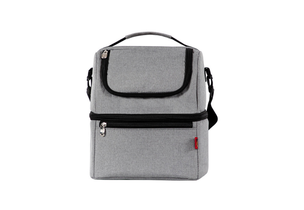 Two-Layer Insulated Shoulder Bag