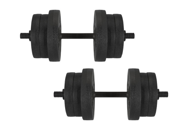 Vinyl Dumbbell Set