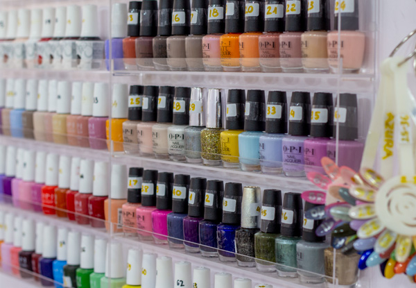 Gel Manicure - Options for Spa Manicure or Pedicure, Classic Manicure or Pedicure & Packages