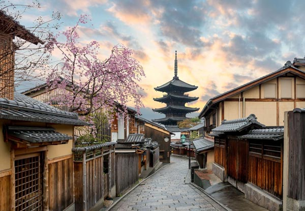 Per-Person, Twin-Share Nine-Day Impressions of Japan Tour incl. International Flights, Accommodation, Transport, Attractions & English Speaking Guide - Option for a Solo Traveller