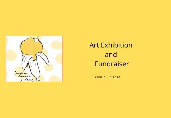 Entry for Two Adults to The Heretaunga Women's Centre presents 'The Sweet as Banana Pudding Art Exhibition and Sale' Opening Night incl. Complimentary Drink - 2nd October 2020