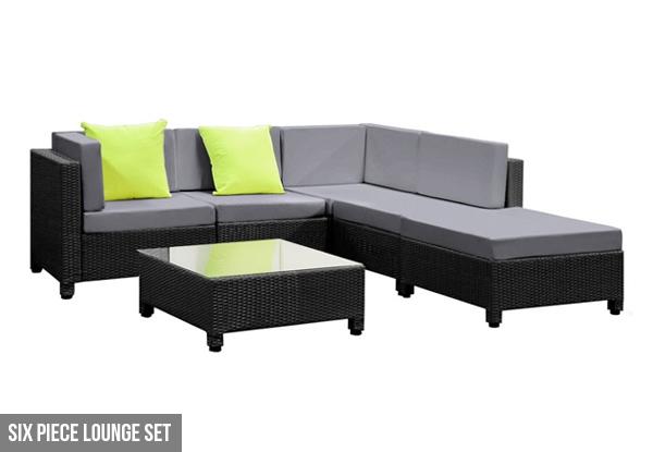 Outdoor Furniture Lounge Set GrabOne NZ