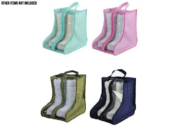 Boot Travel Storage Bag - Four Colours Available & Option for Two with Free Delivery