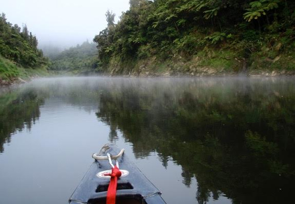 Three-Day Canoe Safari Down The Whanganui River for One Adult incl. Experienced Guide, Overnight Camping, Bridge to Nowhere Walk & All Meals - Option for Child
