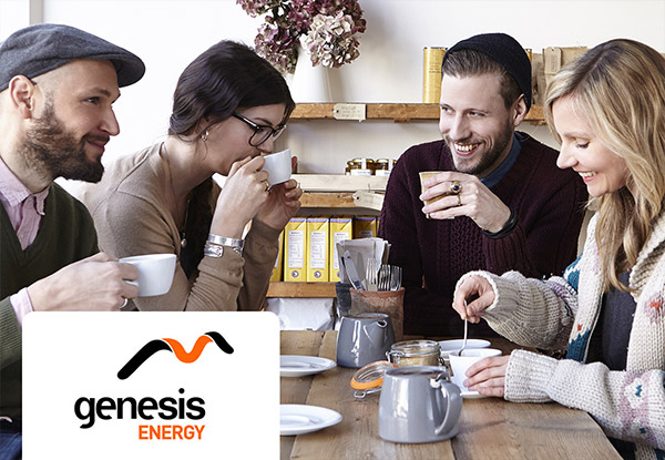 Switch to Genesis Energy & get up to $350 Off your First Bill & a One-Off $50 GrabOne Credit