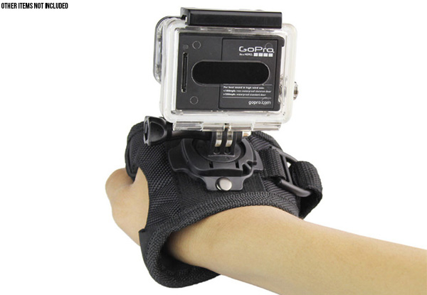 Motion Camera Wrist Band - Option for Two with Free Delivery