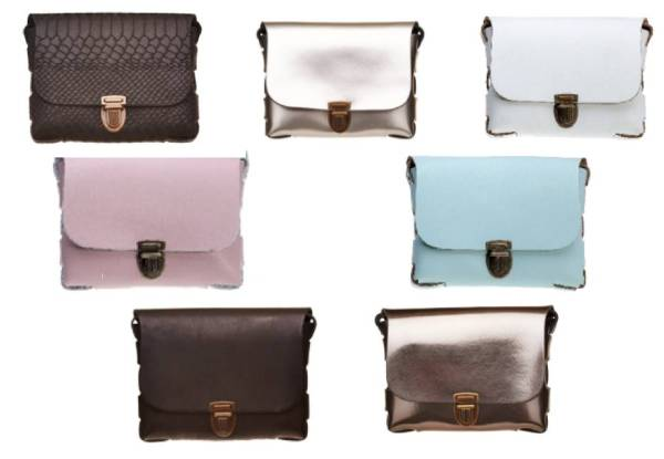 Split Leather Elvy Bag Range - Seven Styles Available with Free Delivery