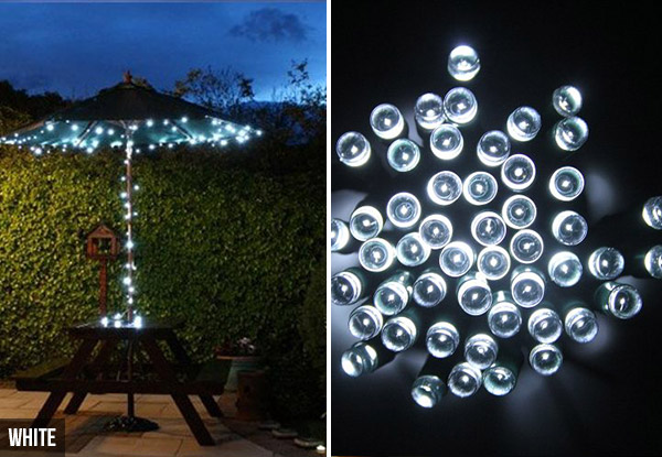 String Led Lights Nz : String of Solar LED Lights GrabOne NZ