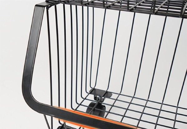 Tiered Steel Wire Kitchen Storage Trolley - Two Sizes Available