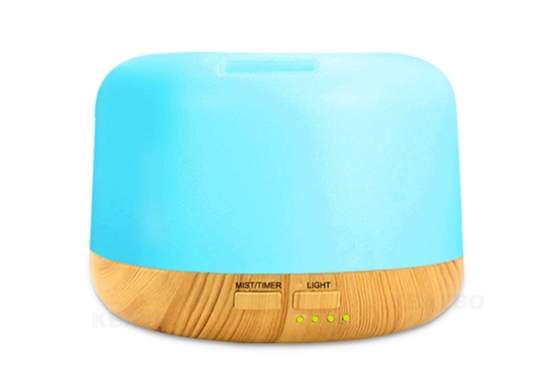 USB Ultrasonic Colour-Changing Air Aroma Humidifier