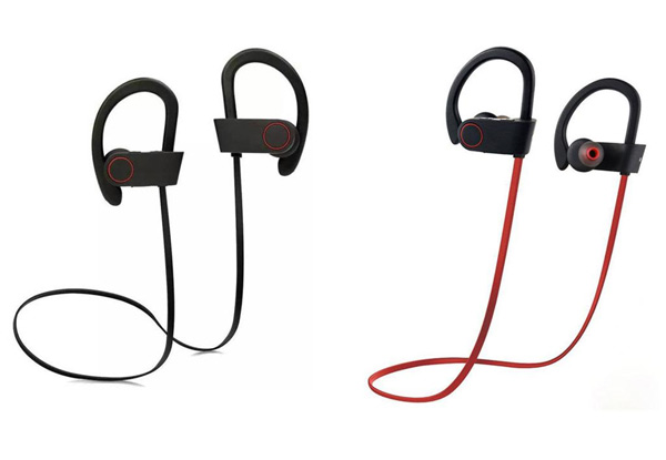 Noise-Cancelling Bluetooth Earphones - Two Colours Available with Free Delivery