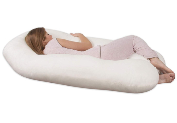 U-Shaped Comforter Pillow - Four Colours Available