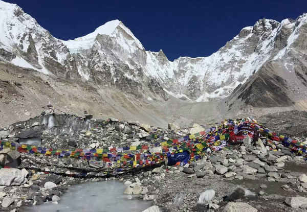 Per-Person Twin-Share 14-Day Once in a Lifetime Everest Base Camp Trek incl. Local Village Trips, Guided Sightseeing & a Local Sherpa Guide