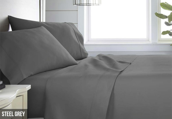 1500TC Sheet Set - Five Colours & Three Sizes Available